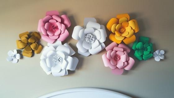 Designing A Paper Flowers Nursery Simply September