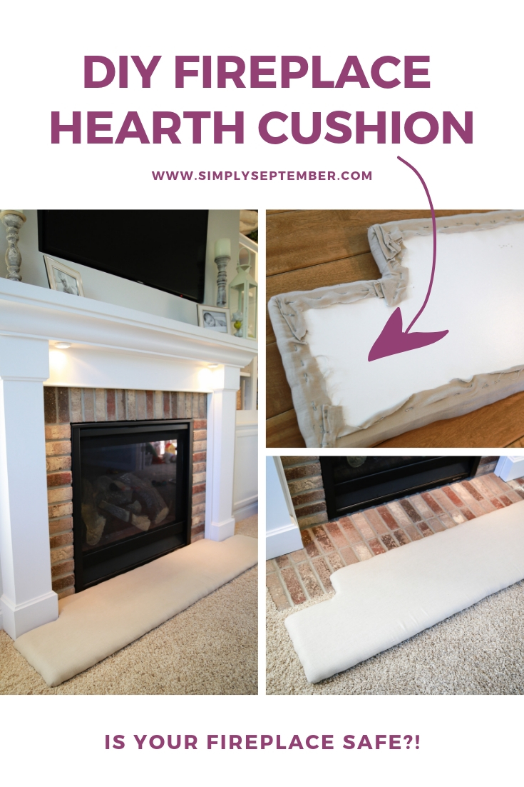 How To Baby Proof A Fireplace Diy Hearth Cushion Simply