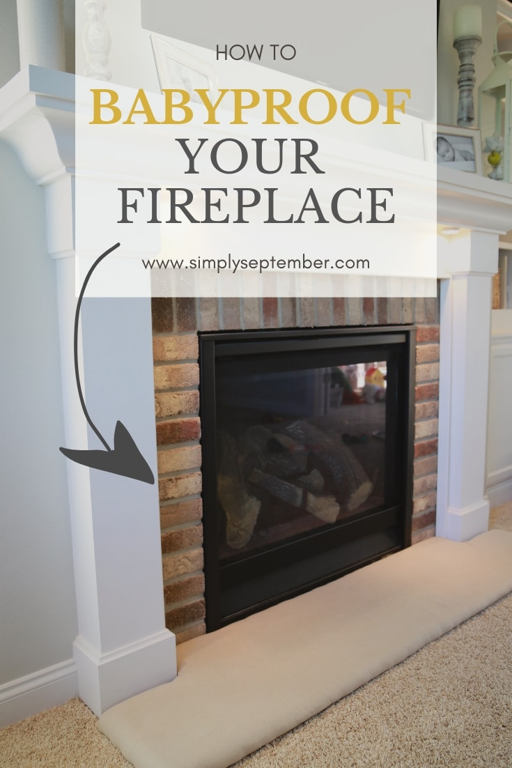 Fabulous How To Baby Proof A Fireplace Diy Hearth Cushion Simply Download Free Architecture Designs Grimeyleaguecom