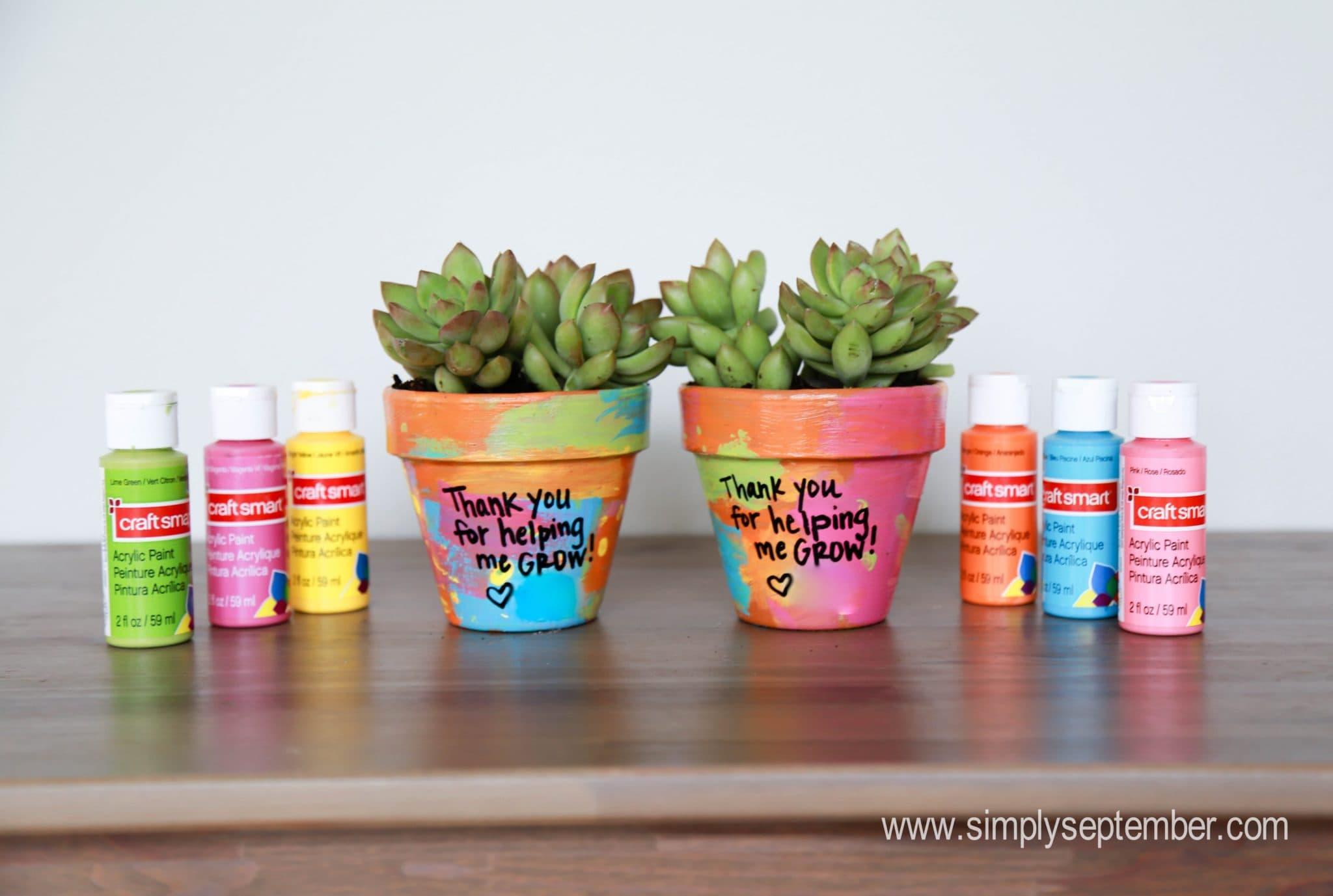 The Perfect Diy Teacher Gift For Children To Make Simply September